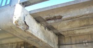 City photo shows need for work on Overlanders Bridge.