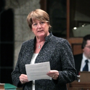 MP Cathy McLeod.