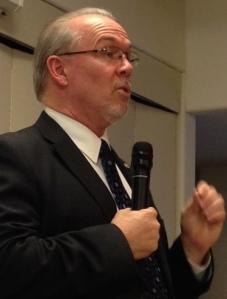 John Horgan speaks to Kamloops crowd tonight.