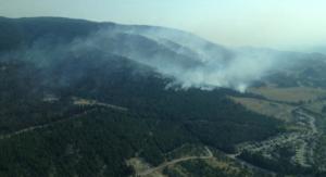 Smith Creek fire. (BCGovFireInfo)