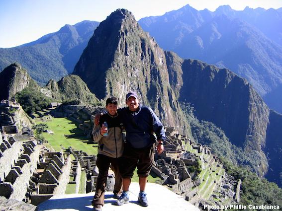 Backpacking in Peru.