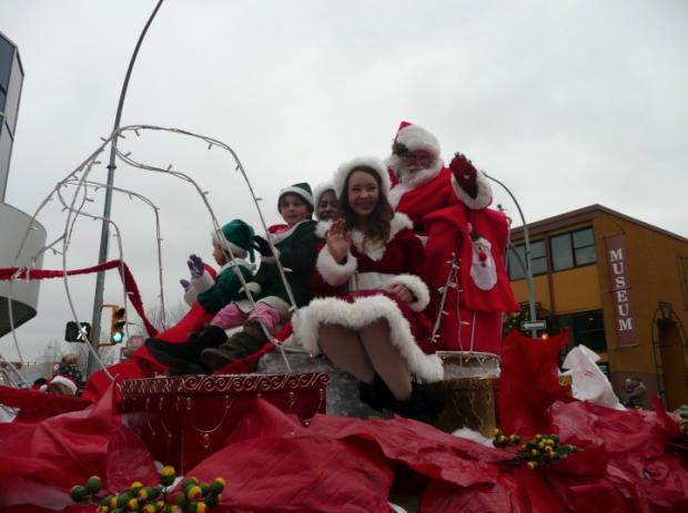 Santa's coming to town. (KCBIA)