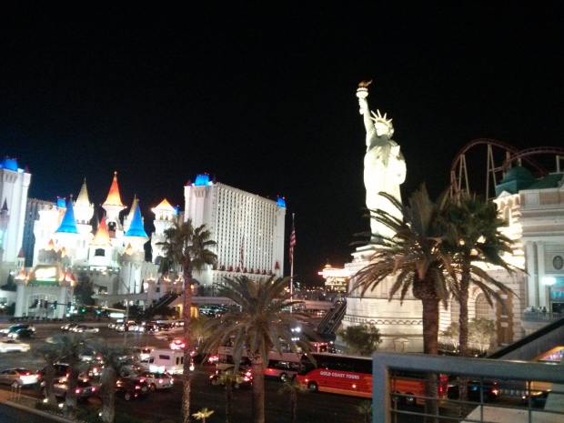 The bright lights of New York — in Las Vegas.