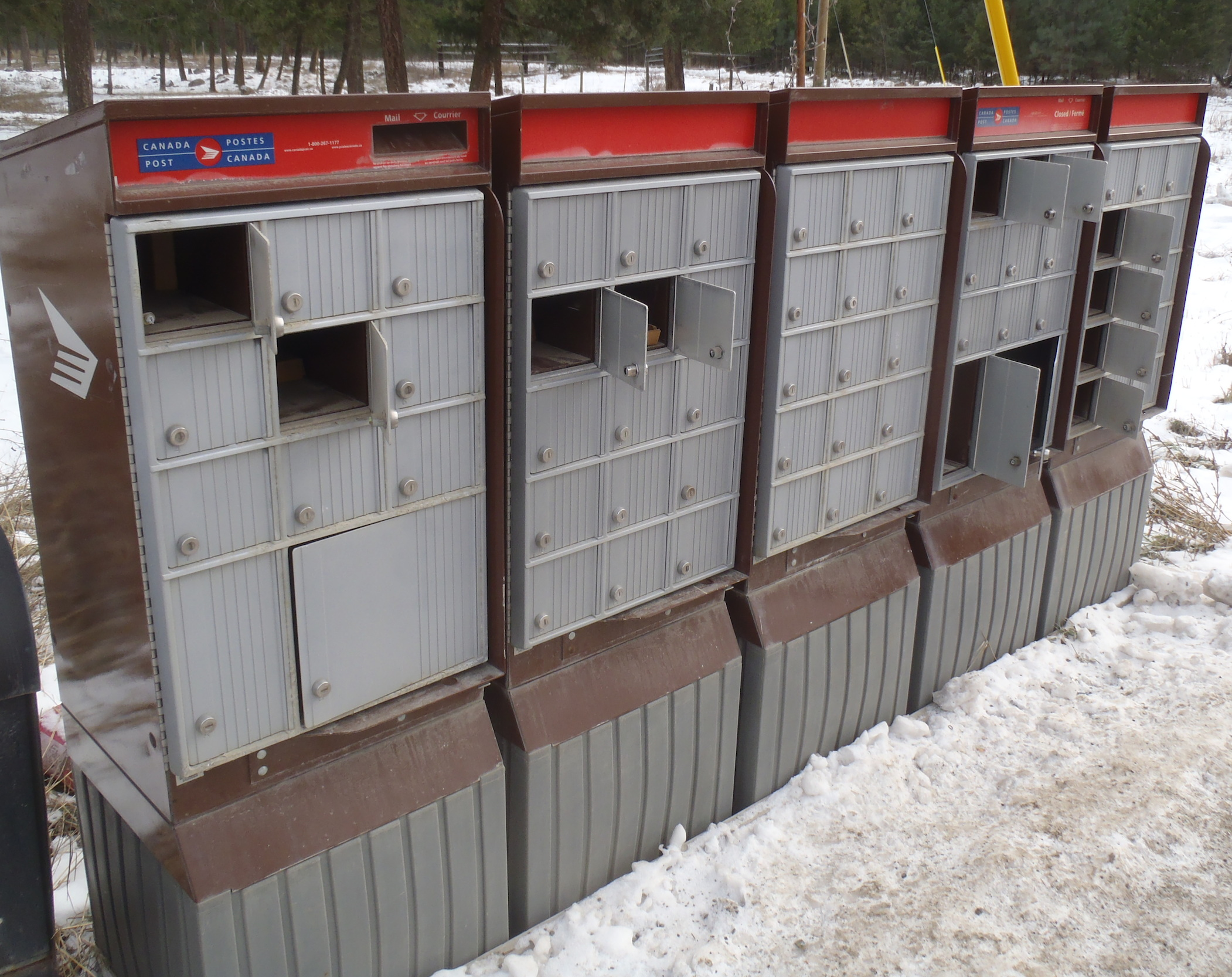 Community Mailboxes In Rural Areas A Target For Thieves