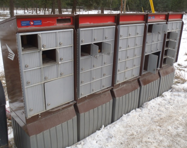 Community mailboxes are a target for thieves.