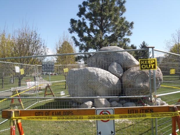 Raven's Nest is behind a barrier after tragic death.