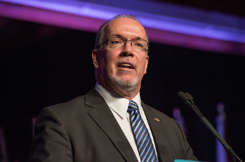 John Horgan promises $10 daycare.