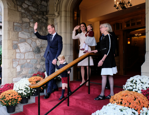 The Royals say goodbye to Canada after eight-day visit. (BC Govt photo)