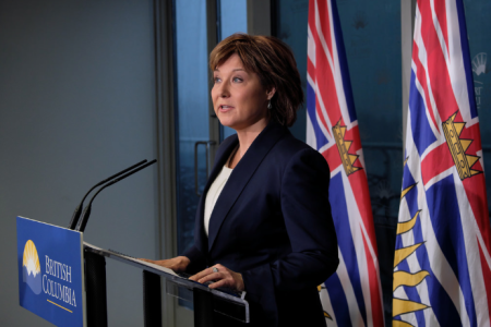 Premier Christy Clark. (Govt of BC photo)