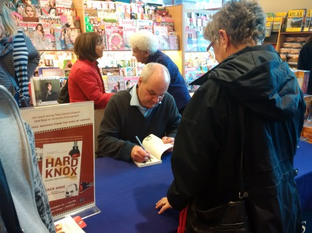 Columnist and author Jack Knox was at the Kamloops Chapters signing copies of his new book Hard Knox this week. This has nothing to do with this column, but just so you know, it's Number One on the B.C. Bestsellers list.