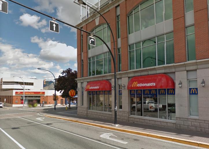 McDonalds at Third and Victoria. (Google.ca)