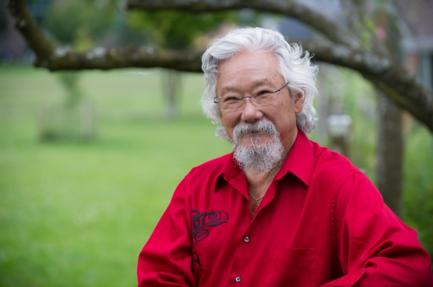 David Suzuki will be in Kamloops Feb. 8.