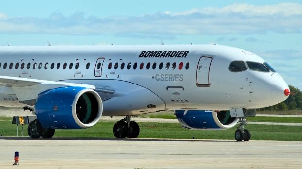 Bombardier C100. (Wikimedia Commons)