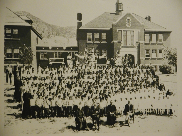 Kamloops Indian Residential School.