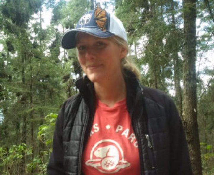 Environment Minister Catherine McKenna visits home of Monarch butterflies.