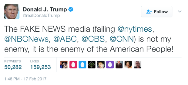 trump-fakenewstweet