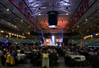 More than 500 enjoyed the dinner and entertainment.
