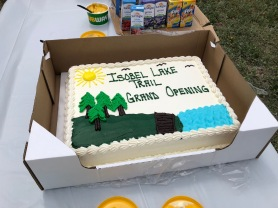 A cake for the occasion.